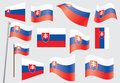 Flag Of Slovakia Stock Images - 25358964
