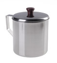 Stainless Steel Cup With Top Cover Stock Photos - 25360053