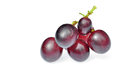 Red Grape Isolated Stock Photos - 25369013
