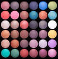 Make-up Colorful Eyeshadow Palettes Royalty Free Stock Photography - 25383607