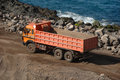 Orange Truck Stock Photos - 2541183