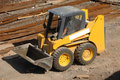 Yellow Earth Mover Stock Images - 2541304