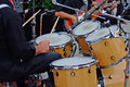 Drum Player Royalty Free Stock Photography - 2543517
