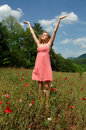 Enjoy Summer Sun And Breeze Royalty Free Stock Image - 2544876