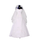 Wedding Dress On Mannequin Royalty Free Stock Image - 25403546