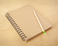 Recycle Notebook Royalty Free Stock Photo - 25423135