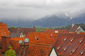 Beautiful Roofs Of Houses In Fussen Royalty Free Stock Photography - 25438707