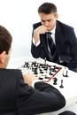 Playing Chess Royalty Free Stock Images - 25443489