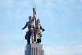 Soviet Monument Worker And Collective Farmer Royalty Free Stock Photos - 25446748