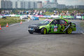 Racing Car On Track Of Moscow Racetrack Stock Image - 25446761