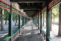 The Long Corridor At The Summer Palace Beijing Stock Photos - 25465743