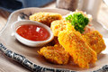 Chicken Nugget Stock Photography - 25474212