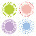 Set Of Ornate Vector Frames Royalty Free Stock Photography - 25474877