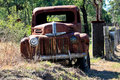Abandoned Rusty Pickup Truck Stock Images - 25486394