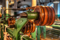 Old Machinery Shown In Clseup Royalty Free Stock Image - 25487286