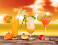 Summer Cocktails Stock Photo - 25497500