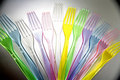 Plastic Forks Royalty Free Stock Photos - 2559228