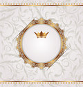 Vintage With Heraldic Crown, Seamles Stexture Stock Photo - 25509230