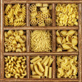 Different Kinds Of Italian Pasta Royalty Free Stock Photos - 25510538