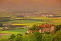 Germany Lanscape Castle And Fields Stock Photos - 25533353