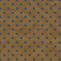Blue And Brown Polka Dot Crumpled Paper Stock Photos - 25540793