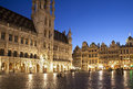 Brussels - The Main Square And Town Hall Stock Image - 25545281