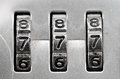 Combination Lock Dials Stock Images - 25554384