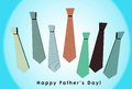 3D Happy Father S Day Card With Orange Background Royalty Free Stock Image - 25570646
