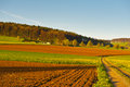 Plowed Fields Royalty Free Stock Photography - 25579537