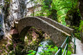 Small Bridge Over River At Gorges De L Areuse Stock Images - 25580144