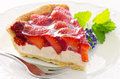 Strawberry Tart Royalty Free Stock Photo - 25591835