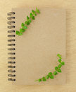 Recycle Notebook Royalty Free Stock Photos - 25592248
