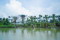 Gardens By The Bay, Singapore, Long Exposure Stock Photography - 25593882