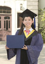 Portrail Of A Female Graduate Royalty Free Stock Images - 25598299