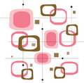 Retro Pink Squares (Vector) Royalty Free Stock Photography - 2564827