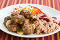 Oxtail Curry With Rice Royalty Free Stock Images - 2567099