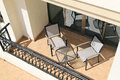 Balcony With Furniture Royalty Free Stock Photo - 25609025