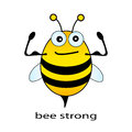 Bee Strong Stock Images - 25609754