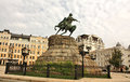 Monument To Bohdan Khmelnytsky In Kiev Stock Photography - 25610702