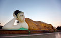 Reclining Buddha Statue In Burma Royalty Free Stock Images - 25614199