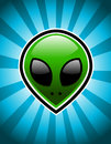 Green Alien Royalty Free Stock Image - 25625716