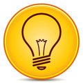 Light Bulb Icon Royalty Free Stock Photography - 25630757