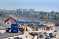 Construction Of A Two-tier Road Interchange Royalty Free Stock Image - 25631566