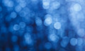 Blue Bokeh Background Royalty Free Stock Image - 25637096