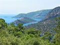 Coastline Landscape Of Mediterranean Sea Turkey Stock Photography - 25639392