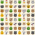 Animals Seamless Pattern [1] Stock Images - 25642864