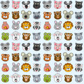 Animals Seamless Pattern [2] Stock Images - 25642884