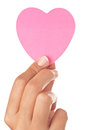 Heart In Hand Royalty Free Stock Photos - 25648968