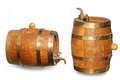 Old Barrel For Wine Stock Photography - 25654982