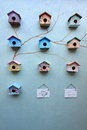 Group Of Bird House Royalty Free Stock Photography - 25657807